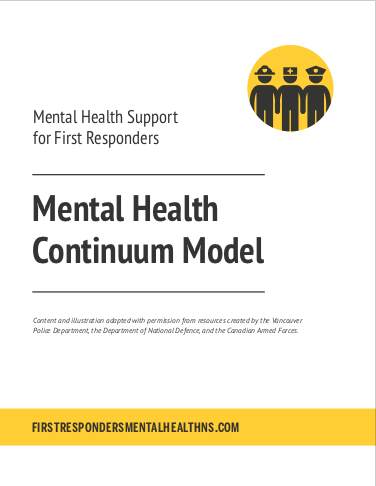 Mental Health Continuum Model – Mental Health Commission of Canada (PDF)